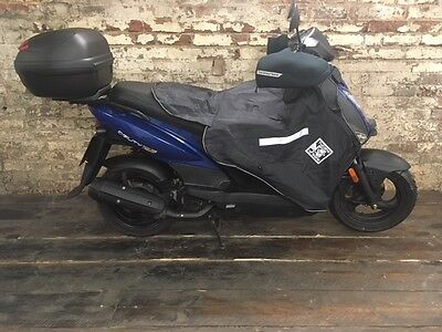 KYMCO AGILITY SCOOTER 125cc ONLY 1600 MILES KNOWLEDGE LOTS OF EXTRAS