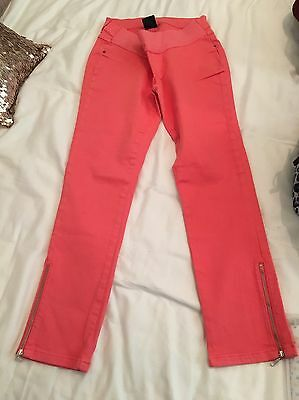 Coral Jeans Seraphine Maternity Size 8. New!