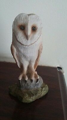 English hand crafted owl
