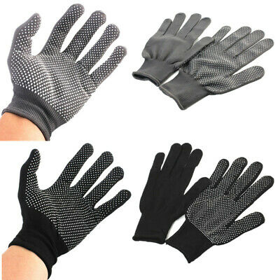 2pcs Heat Proof Resistant Protective Gloves for Hair Styling Tool Straightener