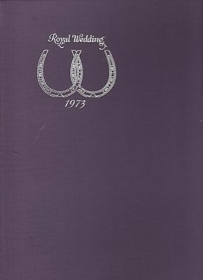 1973 Royal Wedding-Hrh Princess Anne & Capatain Mark Phillips,40 Covers In Album