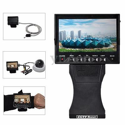4.3'' TFT LCD Audio Video Security CCTV Camera Tester Monitor Net Cable Test 12V