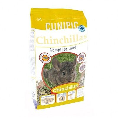 Pienso Chinchillas Cunipic Comida Conejos, Cobayas, Hurones y Chinchillas