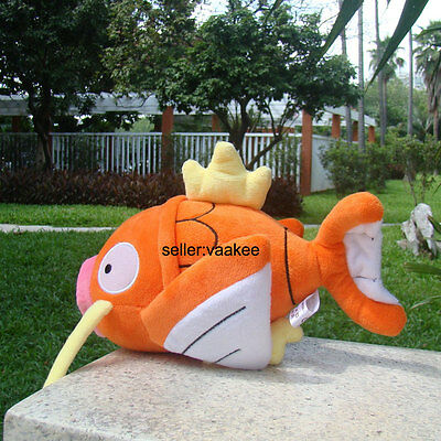 "Nintendo Pokemon Center Go Magikarp 9"" Fish Plush Toy Stuffed Animal Soft Doll"