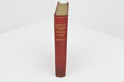 Antique book - A ramblers notebook by Rawnsley 1902 **RARE**
