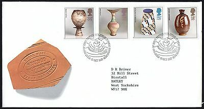 FDC - GB - 1987 Studio Pottery - Royal Mail - First Day Cover.