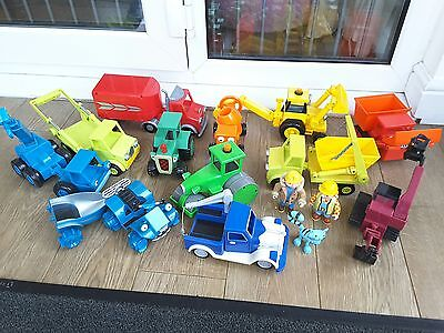 Bob the Builder collection vehicles and figures