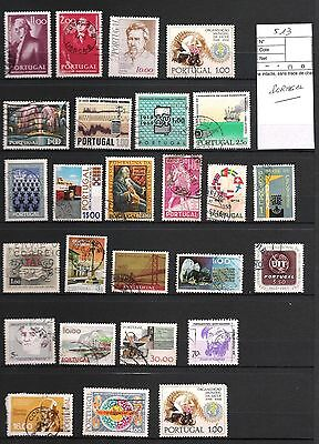 Lot 513 - Timbres  Portugal