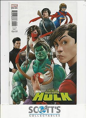 Totally Awesome Hulk  #15  New  (1:25 Singh Variant) Freepost