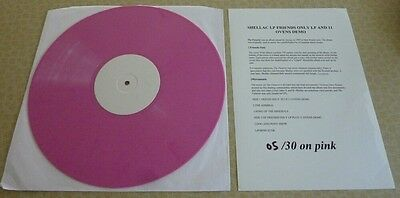Shellac, Futurist Lp Friends Only 2008 Pink Wax Test Pressing Vinyl Lp 05/30.