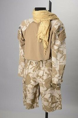 Ghurka's Under-Combat Body Armour Shirt with Shemagh & Shorts. NEC