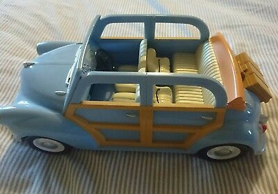 Sylvanian Families blue family car COMPLETE