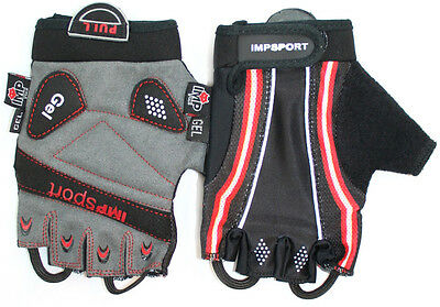 Impsport Elite Cycling Mitts - Fingerless Gloves With Gel Padding