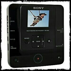 "SONY VRD-MC6 DVD Recorder DVDirect DVD Burner 2.7"" Screen & AVCHD Recording"