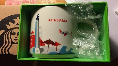 ALABAMA Starbucks You Are Here Collection 14 fl oz Mug Very Cool