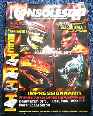 Consoles + Plus N°46 Magazine jeux video console retrogaming Nintendo SEGA Sony