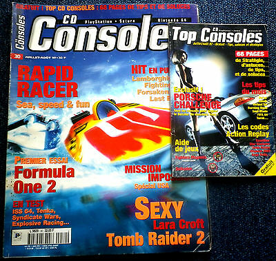 CD CONSOLES N°30 Magazine jeux video console Playstation Nintendo SEGA Sony PS1
