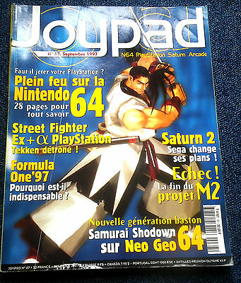 Joypad - N° 67 Magazine jeux video console retrogaming SEGA Nintendo Playstation