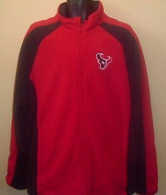 Official HOUSTON TEXANS NFL Fleece Jacket (XXL)