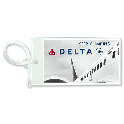 DELTA AIR LINES Durable Baggage Tag Keep Climbing Airlines
