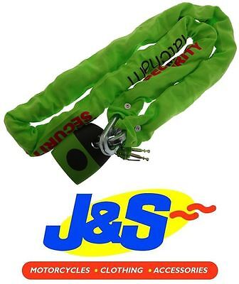 Mammoth Thatcham Approved Square Chain 12Mm 180Cms Motorcycle Lock Motorbike J&s