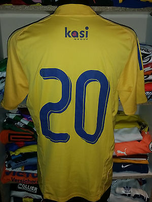 Issue/worn #20 Brondby If 2008/09 Home Shirt Size Xl Trikot Jersey Formotion 607