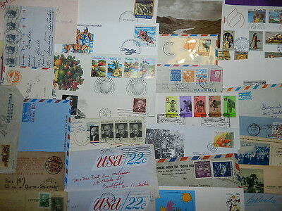 Lot Of Covers Letters & Fdc, Usa,sverige,australia,italy,russia