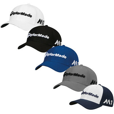 TaylorMade Golf 2017 Mens New Era Tour 39Thirty Stretch Fit Baseball Cap