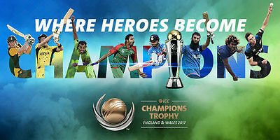 ICC Champions Trophy - 2 x Final tickets