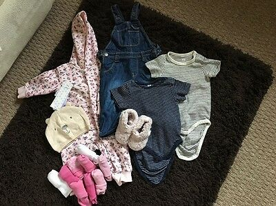 Girls Bundle 3-6 Months Assorted Clothes