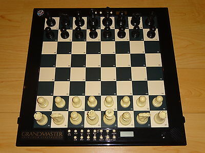 Grantmaster Excalibur Chess Computer 2200 Rating Auto Sensory Excell't Condition