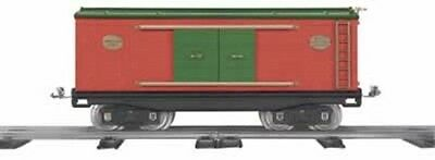 MTH Trains Tinplate Traditions Standard Gauge Christmas Box Car 10-2037