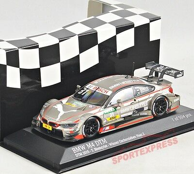 NEW 1/43 Minichamps 410152431 BMW M4 DTM 2015, Tom Blomquist #31