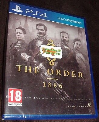 The Order 1886 Playstation 4 PS4 NEW SEALED FREE UK Delivery