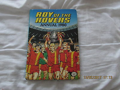 ROY  of  the  ROVERS  ANNUAL  1980  VERY  GOOD  FOR  AGE