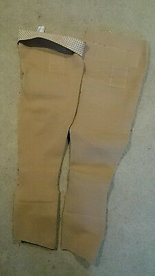 Custom made long stockings for treatment of lymphedema with cushions