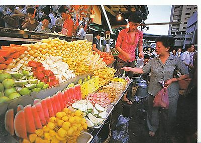 Asia Postcard - Singapore - Local Fruits Stall     LSL872