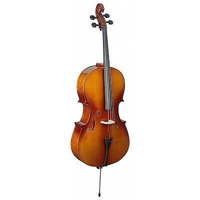 Stagg 22373 Size 4/4 Solid Maple Cello with Bag -