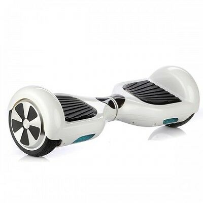 6.5' electric balance Scooter skateboard UL certified Color White - eBoard
