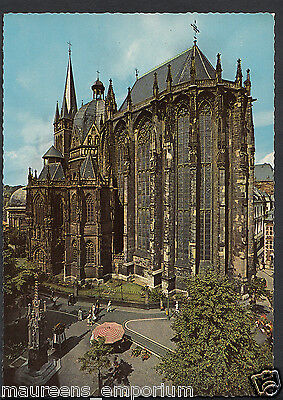 Bad Aachen germany postcard bad aachen dom cathedral rr1377 1 89