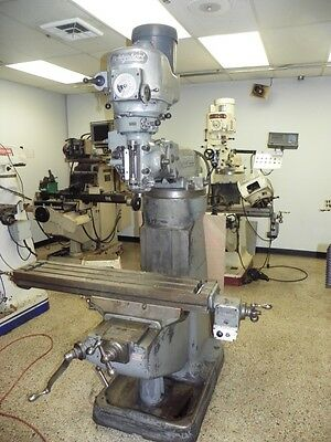 Bridgeport Variable Speed 2J Vertical Mill Milling Machine