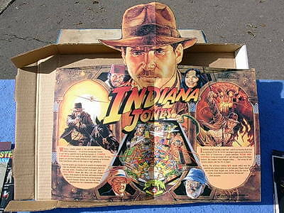 1993 Williams INDIANA JONES Pinball Advertising Brochure