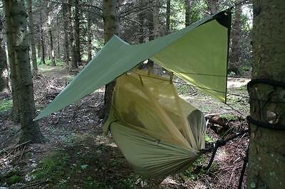 Highlander Crusader #  Hammock With Intergrated Mozzie Net, Tarp And Fixings