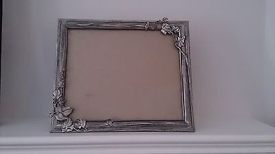Seagull Pewter - 8 X 10 Frame - Carved Wood With Ivy Theme