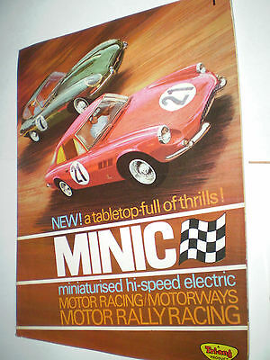 MINIC MOTORWAYS TOY CATALOGUE c1966 UK EDITION EXCELLENT FOR AGE