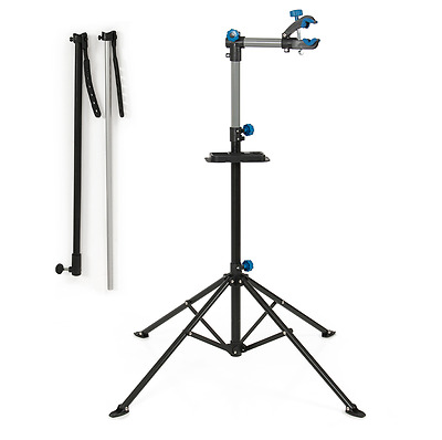 New Professional Bike Bicycle Repair Stand Workstand Maintenance Mechanic Rack