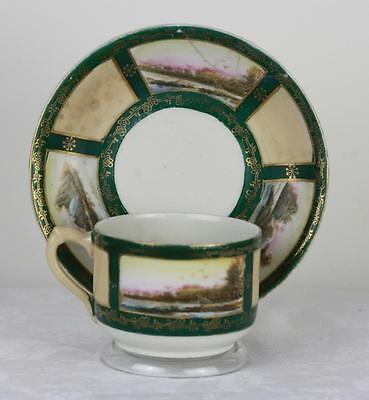 Antique Russian Soviet Porcelain Art Deco Tea Cup by Proletariy fact 1927 #1
