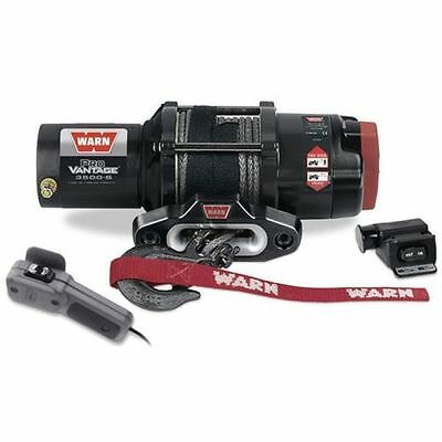 Warn 90351 ProVantage 3500-s Winch 3500lb pull w/50ft Synthetic Cable ATVs /UTVs