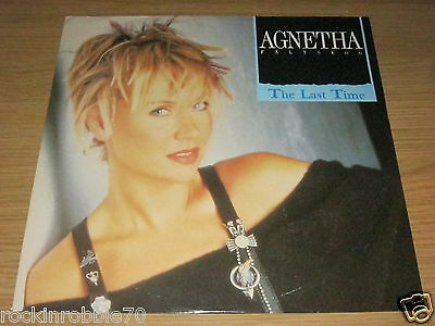 "Agnetha Faltskog - The Last time 1988 WEA 12"" Single 45rpm (ABBA)"