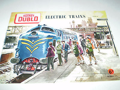 HORNBY DUBLO MODEL RAILWAYS CATALOGUE 1960 2nd EDITION EXCELLENT FOR AGE
